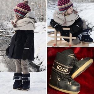Host Pick • Kids' IGLOO Moon Boots Snow Boots